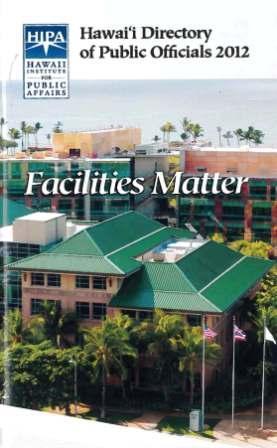 Hawaii DIrectory of Public Officials 2012