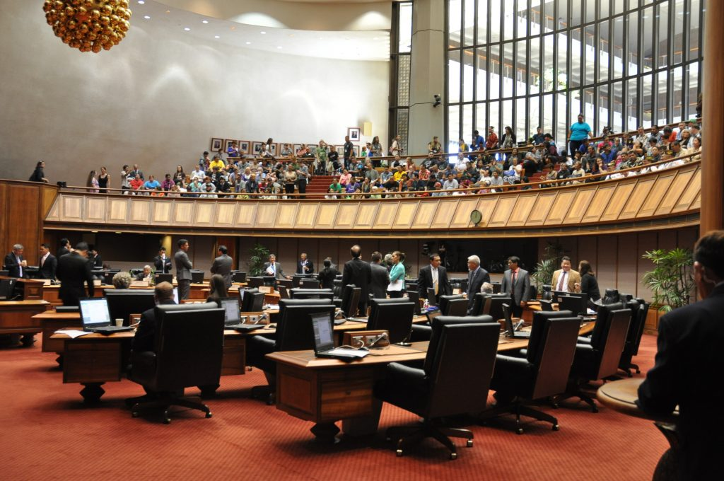 Hawaii State House of Representatives Meeting
