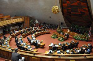 Hawaii State House of Representatives Meeting